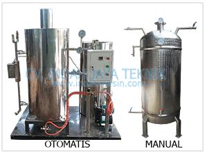 boiler jamur manual dan otomatis produk indahmesin