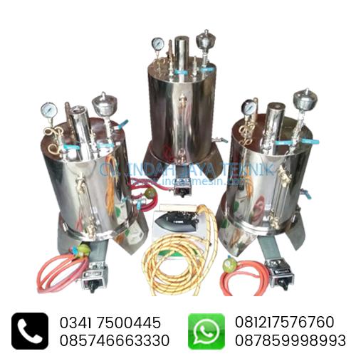 Spesifikasi Boiler Setrika Uap IndahMesin