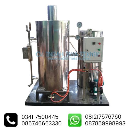 Spesifikasi Boiler Sistem Otomatis IndahMesin